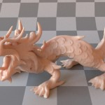 XYZRGB Dragon model rendered using the new dipole implementation